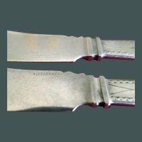 Tiffany & Co. 2-Fish Knives Polhemus 4 oz