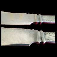 Tiffany & Co. 2-Fish Knives Polhemus 4 oz