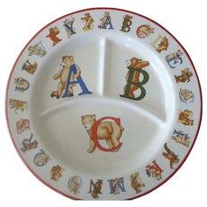 Tiffany & Co.BEARS Alphabet baby Plate 1994