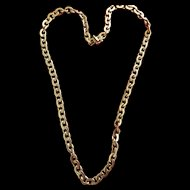 18K Gold Chain ~ 36.836 grams -beautiful links