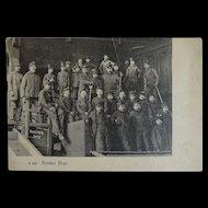 old  Postcard Breaker Boys Child Labor Coal Miners Pennsylvania