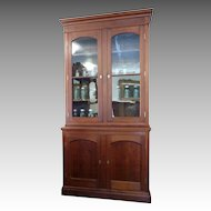 Step back Cupboard American c.1870