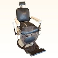Theo A Kochs Barber Chair with Childs Seat
