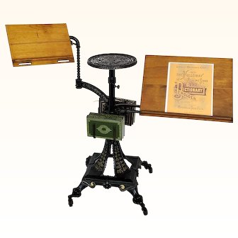 Holloway Reading Stand and Dictionary Holder 1890's