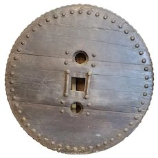 Ox Cart Wheel 1800's