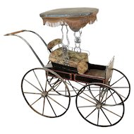 American Victorian Baby Carriage c. 1890
