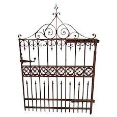 Garden Gate Cast Iron c. 1870