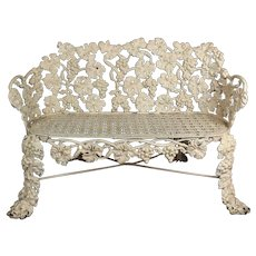 Cast Iron Garden Bench     c.1890