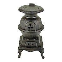 Blaze - Toy Pot Belly Stove     c. 1910