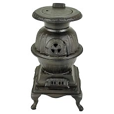 Blaze - Toy Pot Belly Stove     c. 1910