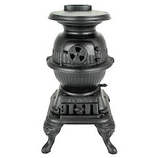 Sparks - Toy Pot Belly Stove    c.1910