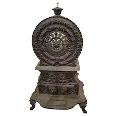 Small Fancy Victorian Cast Iron Parlor Stove Quot The Belle Quot Antiques On Hanover Ruby