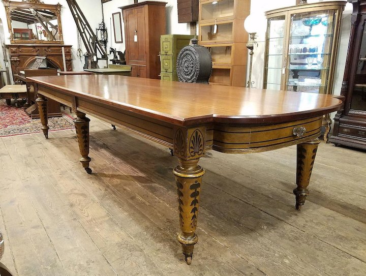Dining Conference Table C S Dixons Antiques Ruby Lane - Antique conference table