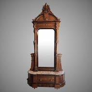 Entrance Mirror American Victorian c. 1870's