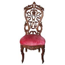 American Victorian Side Chair  c.1860