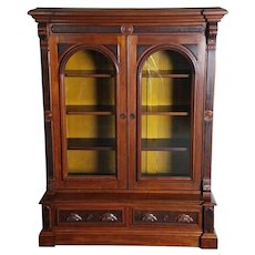Bookcase American Victorian c. 1870