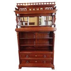 Bookcase /  Etagere American Victorian c 1890's