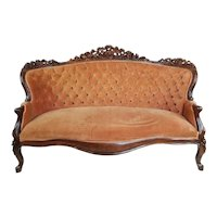 American Victorian Sofa c. 1870