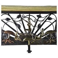 Art Deco Bench c. 1930s    Not Edgar Brandt