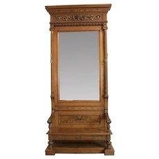 Entrance Mirror American Victorian c. 1880's
