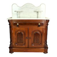 American Victorian Marble Top Washstand   c.1870