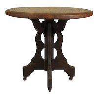 Chestnut Table   c.1890