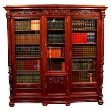 American Victorian Bookcase   c.1890