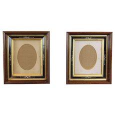 Pair Deep Well Frames c. 1880