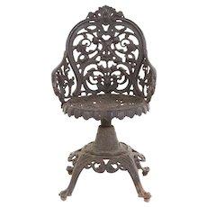 Victorian Garden Chair c. 1890's