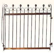 Garden Gate Cast Iron c. 1870