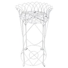 Antique Victorian Wire Garden Planter c. 1890