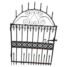 Antique Victorian Garden Gate c. 1870