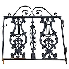 Antique Victorian Garden Gate  c. 1890