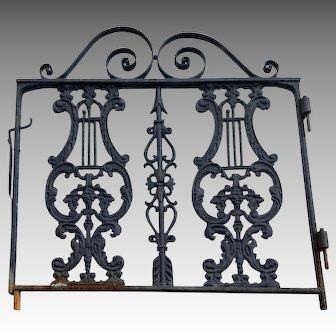 Antique Victorian Garden Gate  c. 1890
