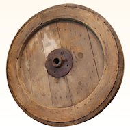 Large Antique Mill Wheel c. 1850