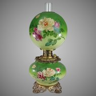 """New Rochester """"Gone with the Wind"""" Oil Lamp"""