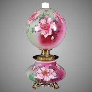 Gone with the Wind Oil Lamp c. 1890s