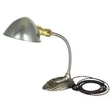 Gooseneck Desk Lamp      c. 1920