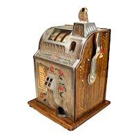 Slot Machine - Mills - Poinsettia       c.  1929