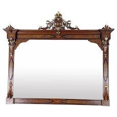 Overmantel Mirror American Renaissance Revival c. 1870