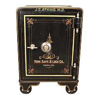 Antique Floor Safe     c. 1890