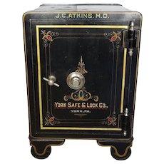 Antique Floor Safe c. 1900  York Safe and Lock Co.