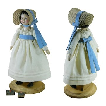 "Hitty (6.5"") Dressed in her Jane Austen Outfit"