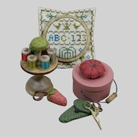 Sewing Accessories for a Doll - Complete Set by Gail Wilson