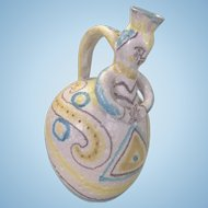 Guido Gambone Italy Art Pottery Ewer Pitcher Jug Eames Era