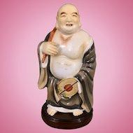 Vintage Porcelain Japanese Buddha Hotei Budai Figurine Japan