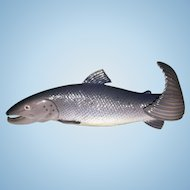 Vintage B&G Bing & Grondahl Porcelain Salmon Fish Figurine