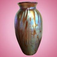 Art Nouveau Loetz Phaenomen Vase Austria Jugendstil