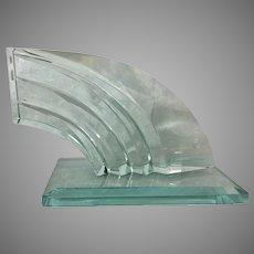 Frantisek Janak For Moser Glass Fish Sculpture 11/96 Czech Republic