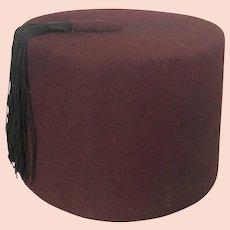 Vintage Fez Hat Cap Moroccan Ottoman W Tassle